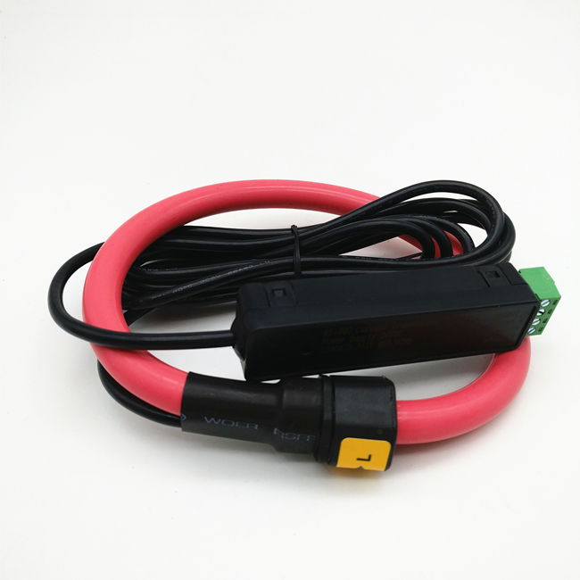 Flexible rogowski coil current transformer